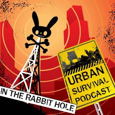 In The Rabbit Hole Urban Survival Podcast Album Art
