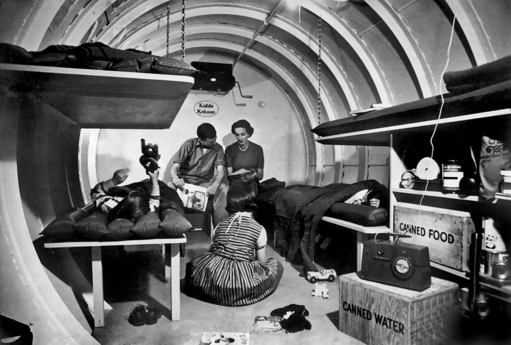 1950's fallout shelter