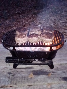 The Lodge Cast Iron Sportsman's Grill | ITRH Urban Survival