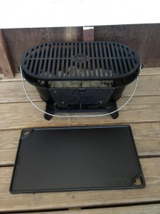 IMG 5645 225x300 Friday Gear Report: The Lodge Cast Iron Sportsmans Grill