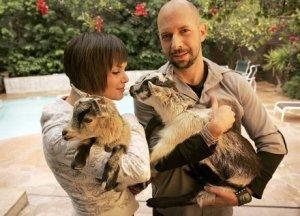 Neil Struass, Girl, and Goat
