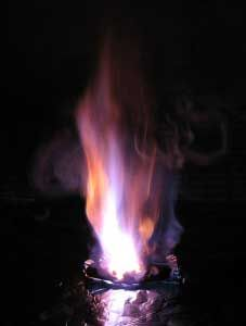 potassium-permanganate-fire