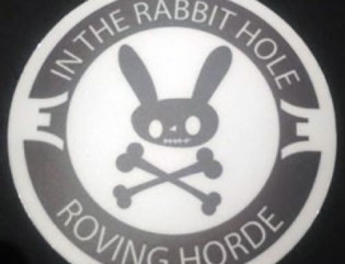 ITRH Roving Horde Sticker