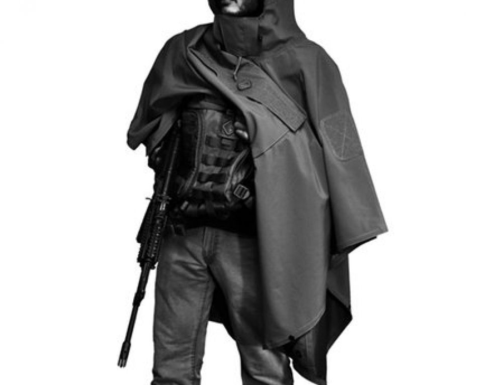 Tactical Poncho of Tacticaleliciousness