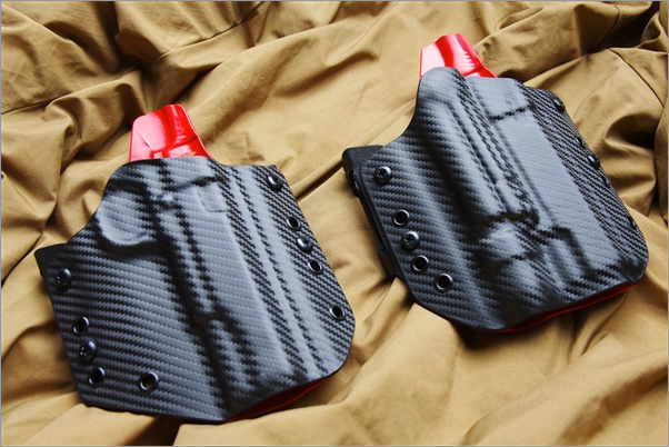 Carbon Fiber Kydex Holster