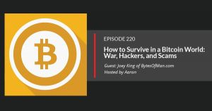 Bitcoin for preppers