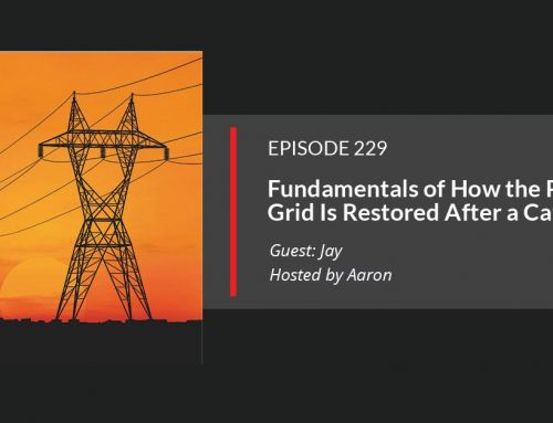 E229: How Electric Power Grids are Restored After a Catastrophe