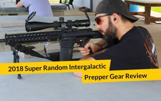 E277: 2018 Super Random Intergalactic Prepper Gear Review