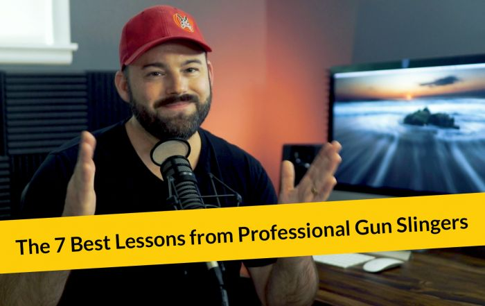 E296: The 7 Best Lessons from Professional Gun Slingers